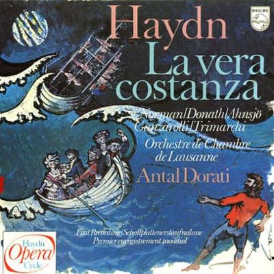 1778 La vera costanza LP cover