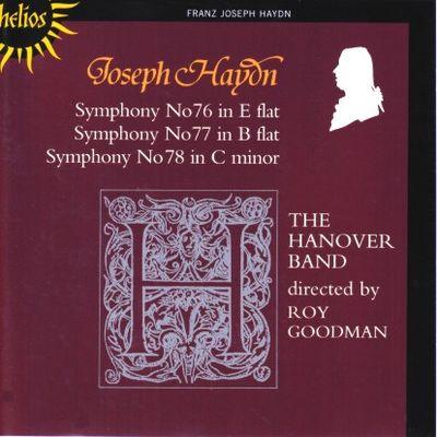 Haydn Symphonies 076 - 078 Goodman cover