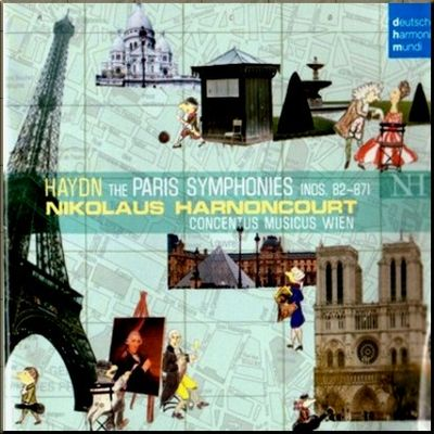 Haydn Harnoncourt Paris cover
