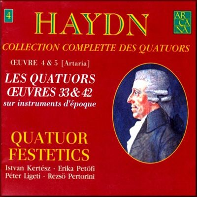 Haydn Festetics Op 33 cover