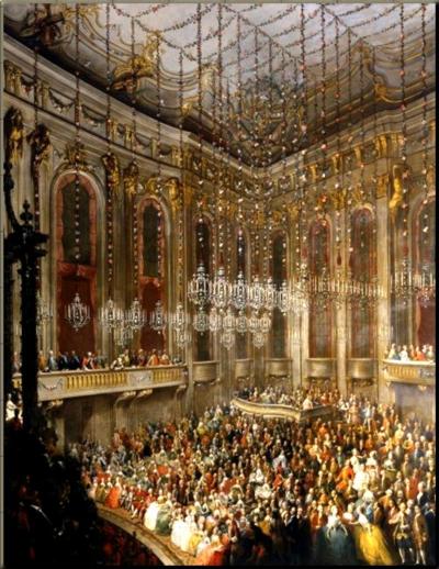 1785 Redoutensaal Serenade Meytens ~1760