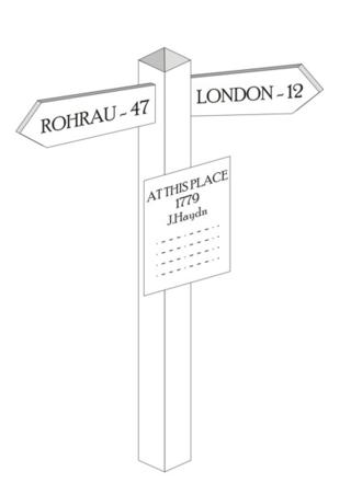 1 Signpost 1779