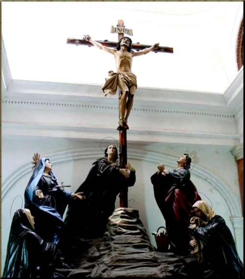 1786 Crucifixion at Santa Cueva