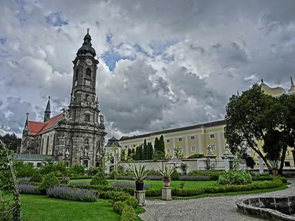 1768 Zwettl Abbey today