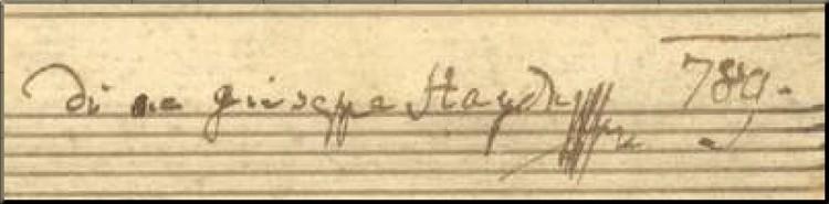 1789 Symphony 92 signature