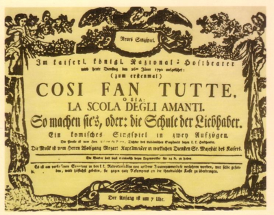 1790 Cosi_fan_tutte_-_first_performance