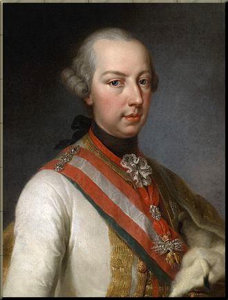 1790 Joseph II  by Joseph Hickel (attr)