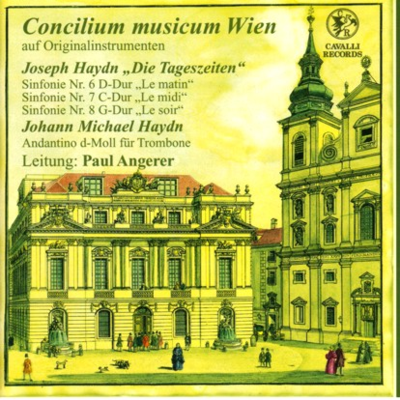 Haydn Symphonies Angerer cover