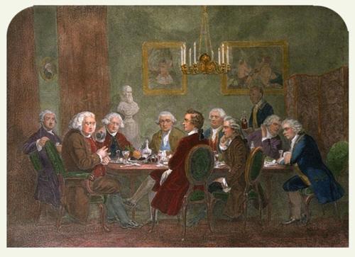 1791 Charles Burney JoshuaReynoldsParty