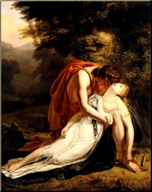 1791 Orpheus Mourns Death of Eurydice Sheffer 1814