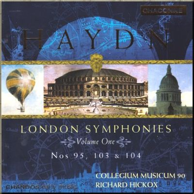 Haydn Hickox London Symphonies vol 1 cover