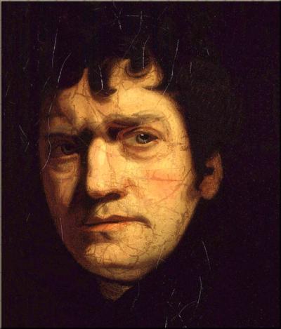 John Wolcot c1780 by John Opie