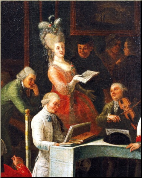 1784 Salon music Gaspare Vizzini