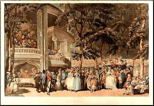 Vauxhall Gardens London 1785