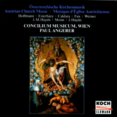 Austrian Church Music Angerer