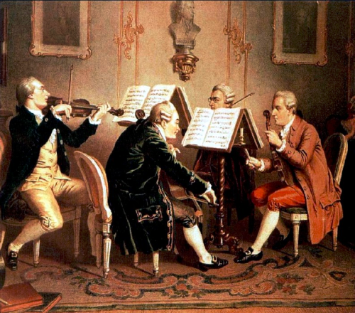 18th century string quartet Henze