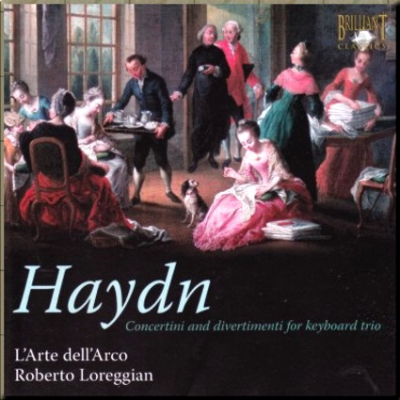 Haydn Hob 14 Loreggian cover
