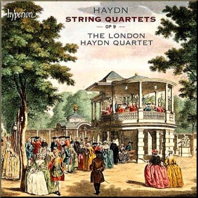 Haydn Londons Op 09 cover