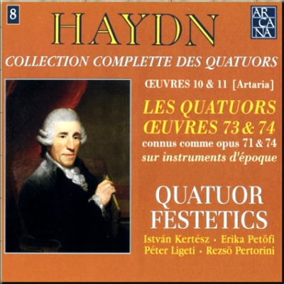 Haydn Festetics Op 74 cover 425