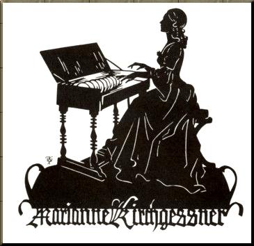 1794 Marianne Kirchgässner glass armonica