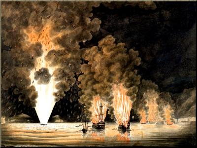 1794 The Evacuation of Toulon Dec 1793