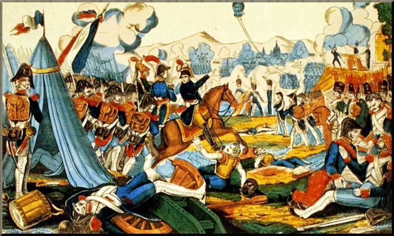 1794 Battle of Fleurus by Anon