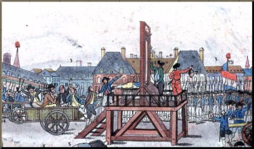 1794 Execution of Robespierre July