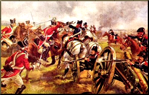 The 1st Kings Dragoon Guards at Cateau, 25th April 1794 by Harry Payne