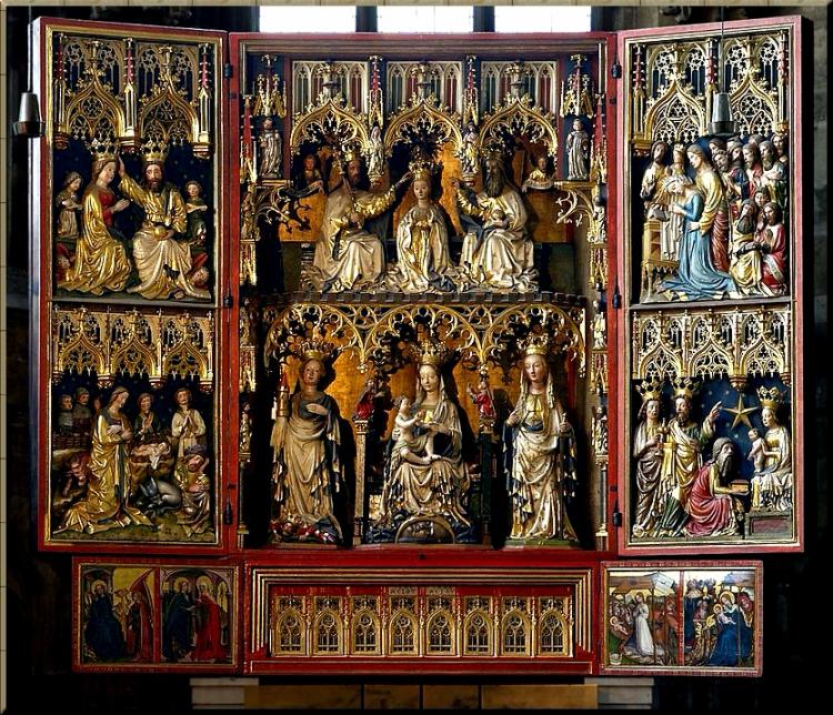 1750 Wiener_Neustädter_Altar_St_Stephen_cathedral_Vienna from 1447