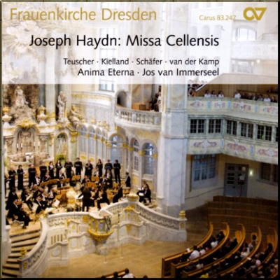Haydn Missa Cellensis I Immerseel cover
