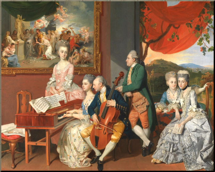 1775 The Gore Family Zoffany