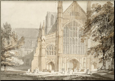 1794 Winchester Cathedral JMW Turner (1795)