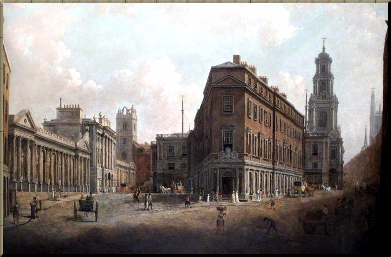 1794 Bank of England in 1790 by William Marlow
