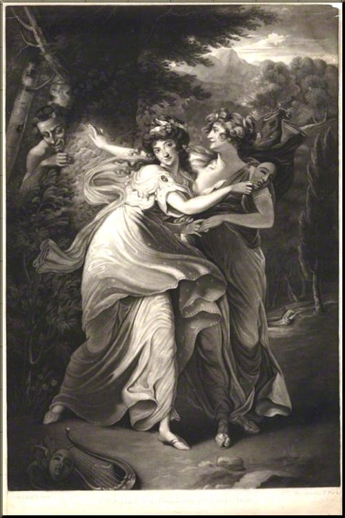 1794 Mrs Jordan as the Comic Muse Park