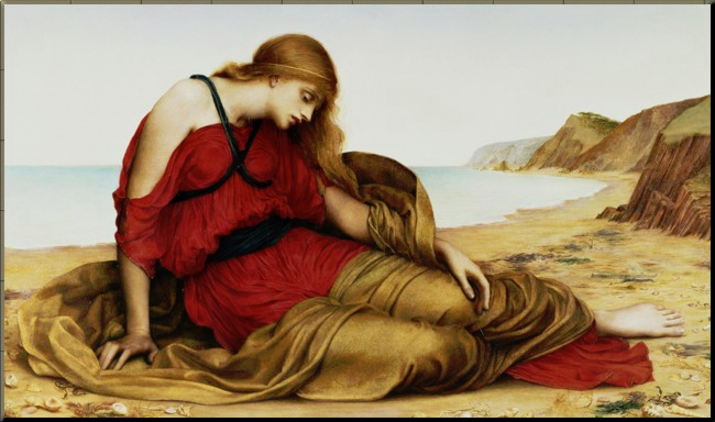 1790 Arianna in Naxos Evelyn de Morgan 1877