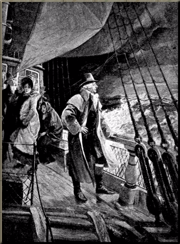 1791 'Haydn Crossing to England' by Carl Röhling The Strand Magazine April 1904