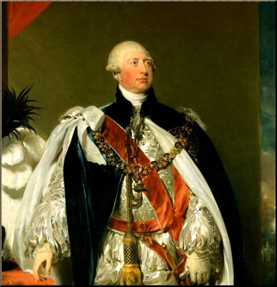 1795 King George III by Thomas Lawrence, 1792 small