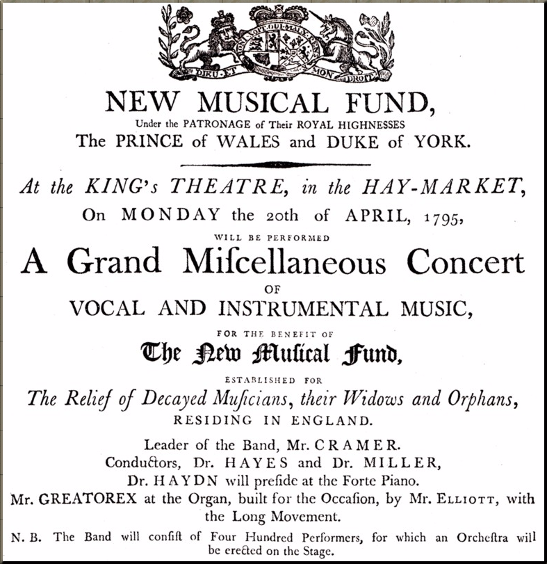 1795 Charity concert poster Apr 95 detail 1