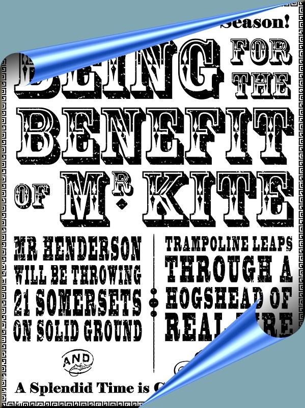 1795 Mr Kite poster