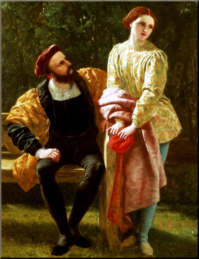 1795 Orsino & Viola from Twelfth Night by Frederick Richard Pickersgill