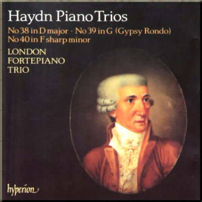 Haydn London Fortepiano Trio cover