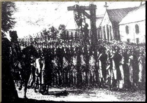 1795 The Hanging of Franz Hebenstreit