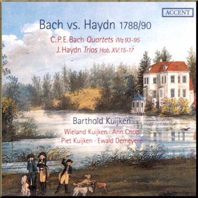 Haydn & CPE Bach Kuijken cover