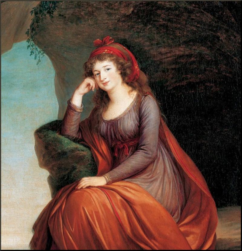 1796 Marie Hermenegild by Lebrun