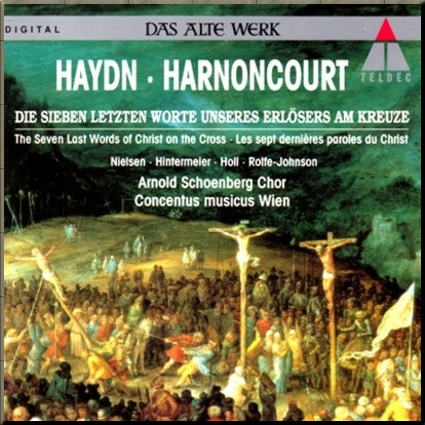 Haydn 7 Last Words Harnoncourt cover