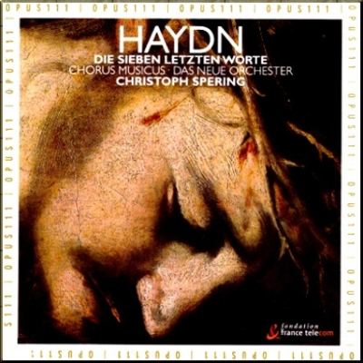 Haydn 7 Last Words Spering cover
