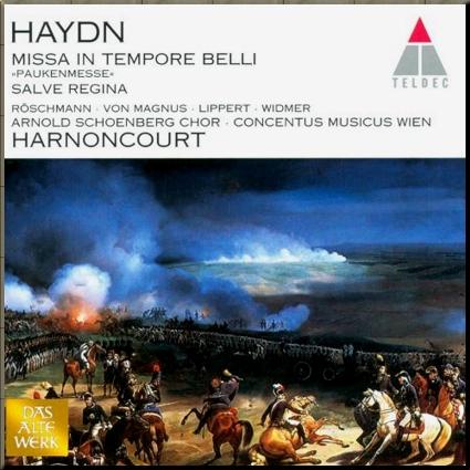 1796 Harnoncourt Paukenmesse cover