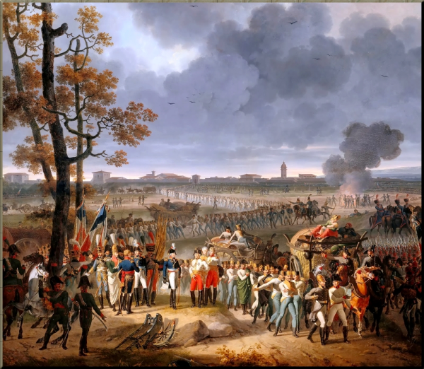 1797 2 February 1797  Surrender of Mantua - Hippolyte Lecomte