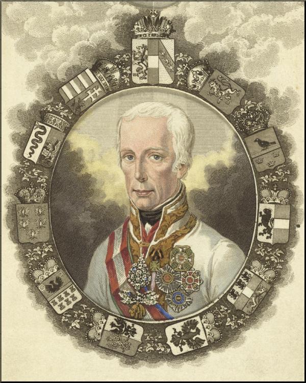 1797 Kaiser Franz lithograph by Joseph Axmann sm