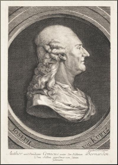 Kurz etching by Ferdinand Landerer